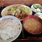 46005584 - 肉野菜炒め定食