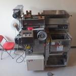 46005772 - 【2015年08月】製麺機(ミキシング~圧延~麺線カットまでできるタイプの様です)。