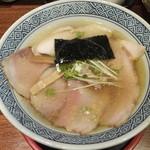 46005791 - 【2015年08月】塩トリプルチャーシュー麺@950円。