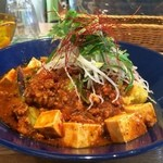 ケロッグ アンド カリー - ナス、豆腐、青梗菜のデンプシー麻婆キーマ