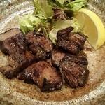 泳ぎイカ 九州炉端 弁慶 - 牛ハラミ焼き