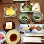 山湯館 - 料理写真:夕食①