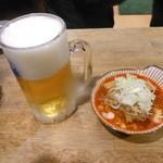 立飲み たきおか 2号店 - 牛煮込み&生ビール