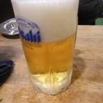 立飲み たきおか 2号店 - 生ビール