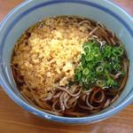 Izurashuuzenjisobadokoro - たぬき蕎麦¥330