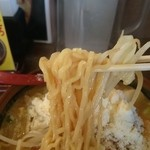 千代商店 - 2015年11月 北海道味噌野菜カレーラーメン チーズのせ 910円