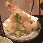 Kagaya - 蟹の天ぷら