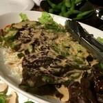 やぶ家 - 野菜サラダ