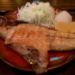 46019415 - 焼き魚定食(鯖・赤魚) ¥850 の焼き魚(鯖・赤魚)