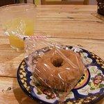 ポポロ - シナモンのドーナッツ130円