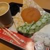 ロッテリア - 料理写真:2015.12ベーコン&チーズセット(300円)