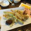 高砂 - 料理写真:天ぷら盛り合わせ!