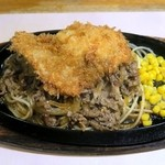 キッチン・カロリー - カツとカロリー焼き¥800