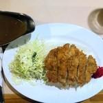 キッチン・カロリー - 黒豚カツカレー¥790(スープ付)