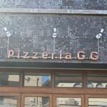 ピッツェリアGG - 店名表示