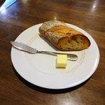 ハンバーグハウス 気楽家 - 料理写真:パン