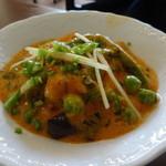 ロイヤルパラソル - こだわり野菜のクリーミーカレー