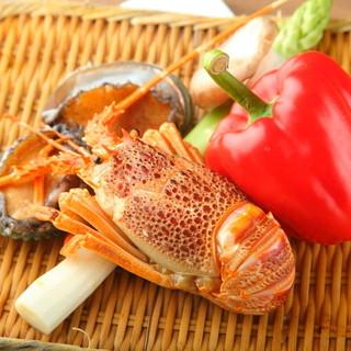 毎朝築地から仕入れる四季を彩る厳選の新鮮魚介