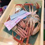 新田商店 - 料理写真:発送した蟹