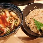 大阪麺哲 - 大和肉鶏蒸篭風つけ麺2015