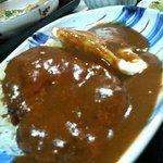 田や - ハンバーグ定食