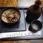 そば処 浅野屋 - 燗酒と肴
