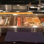 すし割烹 翁鮨 - 美味しそうなネタが沢山。