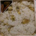 竹風堂 - 料理写真:栗強飯……二人前
