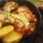 ムサシノバル - 茄子のチーズやき
