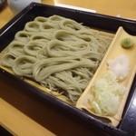 越後長岡 小嶋屋 - 2015/12/31  へぎそば1人前+大盛り