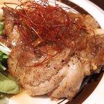 46035123 - ランチセット 1000円 の若鶏のソテー ジンジャーソース