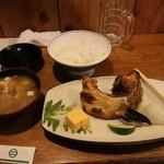 おおはし - (2015年12月)焼き魚定食(ぶり)
