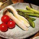 モッツバー隆 - 野菜盛り合わせ