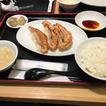 黄金の華 ニッケコルトンプラザ店 - 餃子定食(^∇^)
