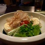 食細工 大黒  - 和風おぼろ豆腐サラダ