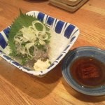 茅ヶ崎 海ぶね - しらすの刺身