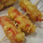 丸亀製麺 - ウィンナー@2010/06/06