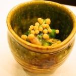 弥助 - 赤貝ヒモの酢味噌和え
