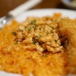 しゃけ小島 - 鮭バターライスのアップ