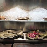 シンガポール シーフードリパブリック - 本日の鮮魚は売り切れ・・