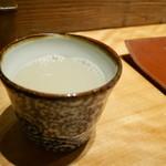 錦織 - 蕎麦湯