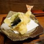 錦織 - 天ぷら(ランチセット)