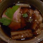 蕎麦きり ほしの - 鴨せいろの鴨汁