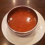 46045377 - レンズ豆のスープ