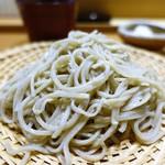 割烹・蕎麦 波と風 - 料理写真:ざる