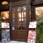 パパス・カフェ - もう1つの入口(こちらからの方がカフェに近いです)
