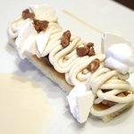 46046391 - ランチコース 2700円 のモンブランと自家製アイスクリーム