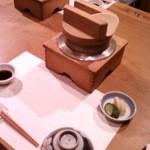 Ichiyamarou - セッティングされた釜飯