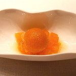 Jean-Georges Tokyo - 干し柿のソルベ