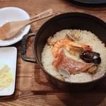 モグラキッチン - ランチの漁師鍋セット
